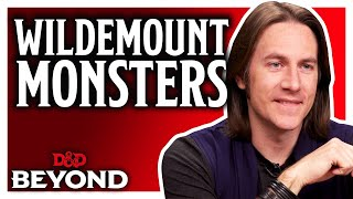 Matt Mercer reveals new Monsters in the Explorer's Guide to Wildemount for D&D
