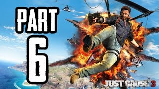Just Cause 3 | #6 | Agraelus | CZ Lets Play / Gameplay [720p60] [PC]