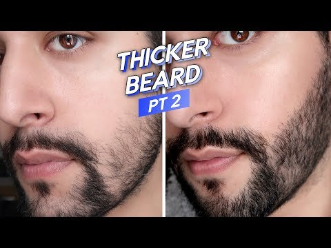 Thicker Beard Experiment PT 2! - Fix / Fill In A Patchy Beard - Patchy Beard Solution? ✖ James Welsh