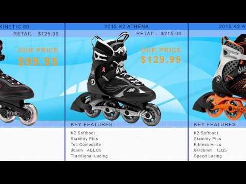 Video: 2015 K2 Womens Inline Skate Buying Guide by INLINESKATESdotCOM