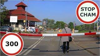 Stop Cham #300 - Niebezpieczne i chamskie sytuacje na drogach