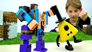 Секреты игры Майнкрафт - Супер Костюм для Стива Майнкрафт!