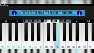 How To:Play 'How I Met My Ex' By 'Santan Dave' On Piano  Tutorial