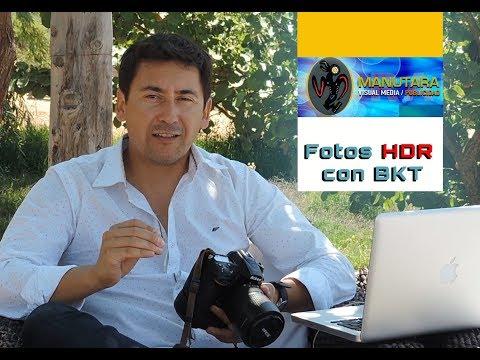 Fotos HDR con BKT