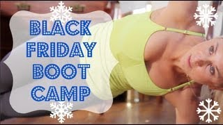 15-min Bootcamp Workout Follow along by Sarah Fit