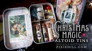 Christmas Magic Altoid Tin