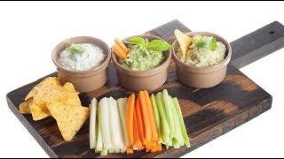 Сырные соусы для большой компании — идеально с чипсами, сельдереем, морковью и так далее