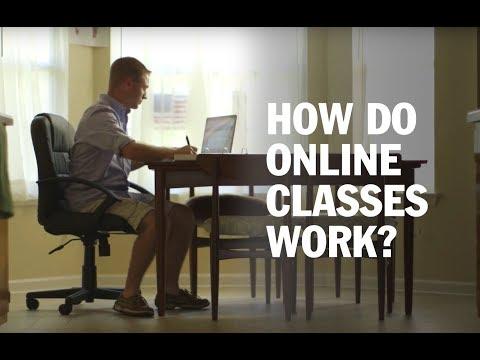 How Do Online Classes Work?