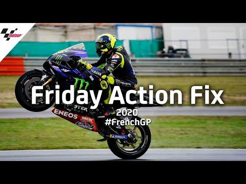 MotoGP フランスGP 金曜日に行われたフリープラクティスのハイライト動画