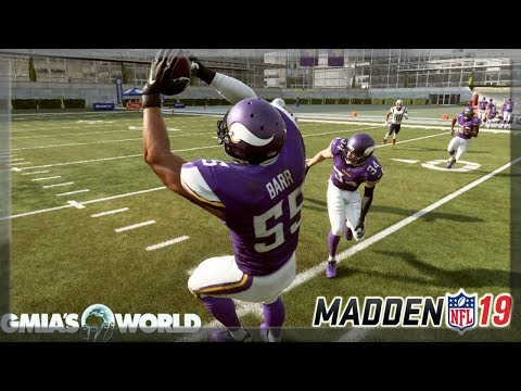 How to Intercept any pass in Madden 19 Gameplay | Madden NFL 19 Skill Builder Tips