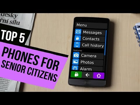 TOP 5: Phones For Senior Citizens