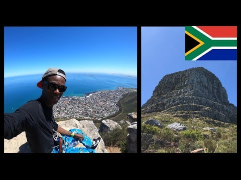 Hiking Lions Head Mountain in Cape Town