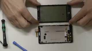Nokia Lumia 820 Touchscreen / Display wechseln, reparieren, deutsch
