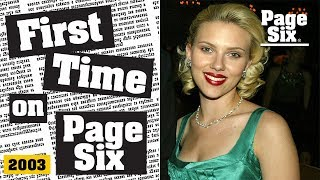 Scarlett Johansson had a very smelly debut in Hollywood and on Page Six   Page Six
