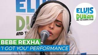 """Bebe Rexha - """"I Got You"""" Acoustic   Elvis Duran Live"""