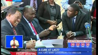 Kenyan Doctors' finally get a cure to their remuneration ailment as government signs CBA