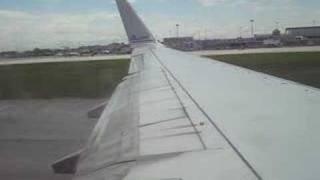 AA 2433 YUL-MIA takeoff 737-800