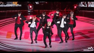 [4K] 161119 방탄소년단 (BTS) 불타오르네 (FIRE) 직캠 @2016 멜론 뮤직 어워드 (MMA) Fancam by -wA-