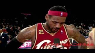 LeBron James 33 pts, 9 asts, 8 rbs vs Knicks 11.6.2009 HD