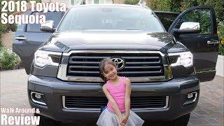 2018 Toyota Sequoia Walk Around and Review. Hulyan and Maya