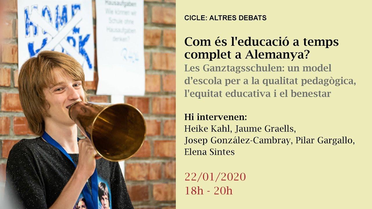 Com és l'educació a temps complet a Alemanya?