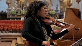 """M. Uccellini - Sonata  II a Violino solo  """"La Luciminia contenta""""  Lux Terrae Baroque Ensemble"""