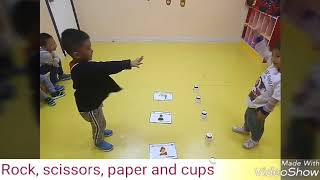 103- ESL Flashcards Game: Cups Up/down