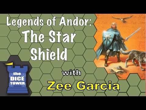 The Dice Tower reviews Legends of Andor: The Star Shield