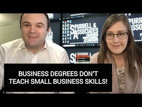 Business Degrees Don't Teach Small Business