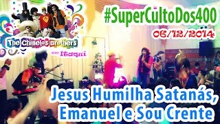 preview picture of video 'Jesus Humilha Satanás, Emanuel e Sou Crente - The Chinelos Brothers em Itaqui (06/12/2014)'