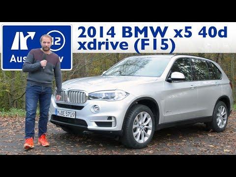 2014 BMW x5 xdrive40d (F15) - Kaufberatung, Test, Review