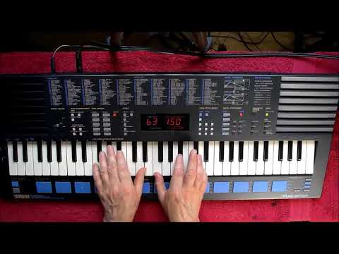 YAMAHA PSS 680 - Review & Demo - Retro Classic From 1988 - HQ Audio