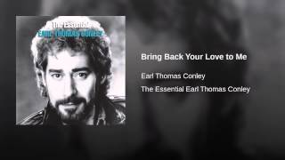 Bring Back Your Love to Me
