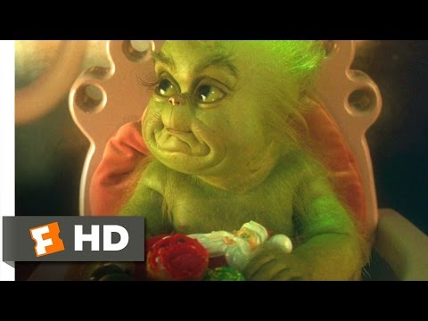 How the Grinch Stole Christmas (2/9) Movie CLIP - Baby Grinch (2000) HD