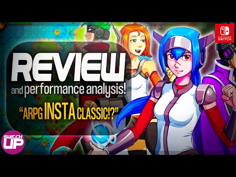 CrossCode Nintendo Switch Review!