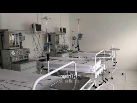 Hospital de Navegantes conta com ala para pacientes da Covid-19