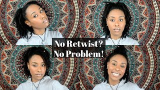 9 QUICK & EASY DREADLOCK STYLES FOR NO RETWIST|Pretty Hippie