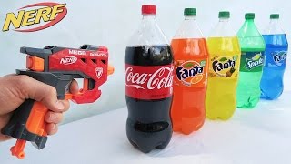WORLDS STRONGEST NERF MOD! (EXPLODING COCA COLA)