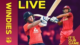 Pooran & Bairstow Tee Off! | LIVE REPLAY Windies vs England 1st T20I 2019