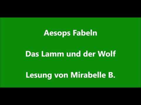 Aesop: Das Lamm und der Wolf - Fabel - Tier Geschichte - Lesung - Kinder Hörbuch