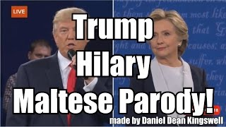 Kummenti Bis-Sens #3 - Trump vs. Hilary Bil-Malti