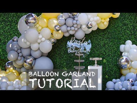 $1000 Outdoor Balloon Garland | Set-Up #1