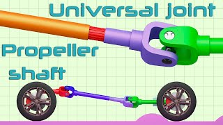 universal joint and propeller shaft