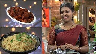 Ruchi Vismayam l EPI - 51  Mandi Rice & Breadfruit fry | Mazhavil Manorama