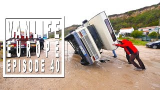Vanlife Vlog: How hurrican Ana struck in Portugal