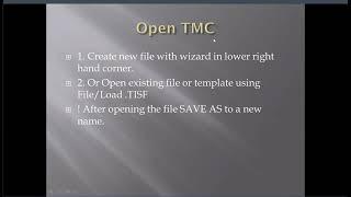 02 Open TMC
