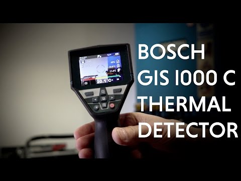 Bosch GIS 1000 C Professional Thermal Detector and Imager from Toolstop.co.uk