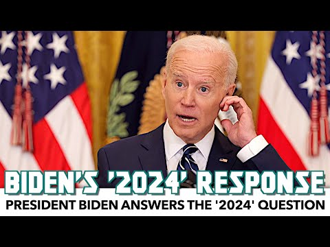 President Biden Answers The '2024' Question