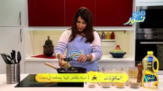 لحم بقر مع بطاطس بالليمون