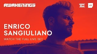 Enrico Sangiuliano - Live @ Awakenings x Adam Beyer presents Drumcode ADE 2018